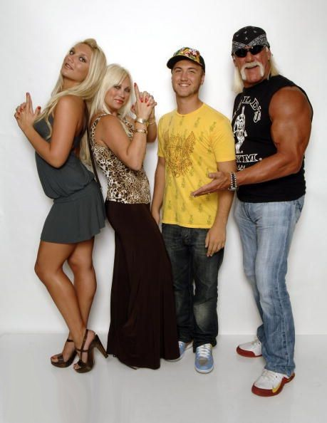 Hulk Hogan wearing Nike Shox Elevate