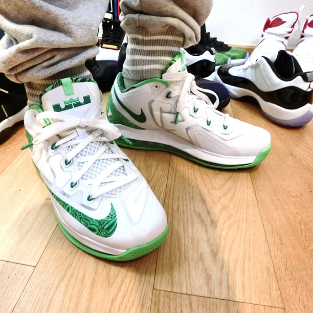 32fea90af8bf ... cheap nike air max lebron 11 xi low easter 642849 100 2 9d8d9 5ec74