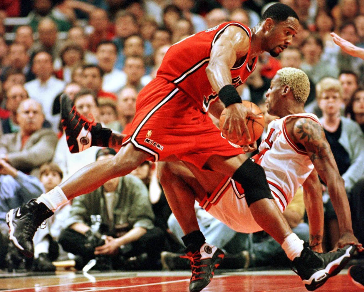 Flashback Best Shoes Worn With the Original Miami Heat Red Road