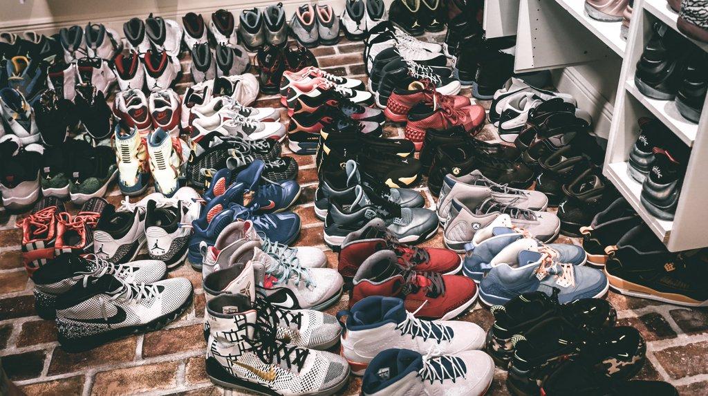 Anthony Davis Sneaker Closet