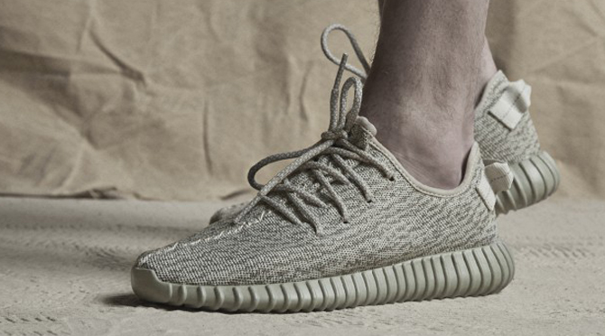 purchase cheap 940a0 5a1da Yeezy Boost Moonrock On Feet
