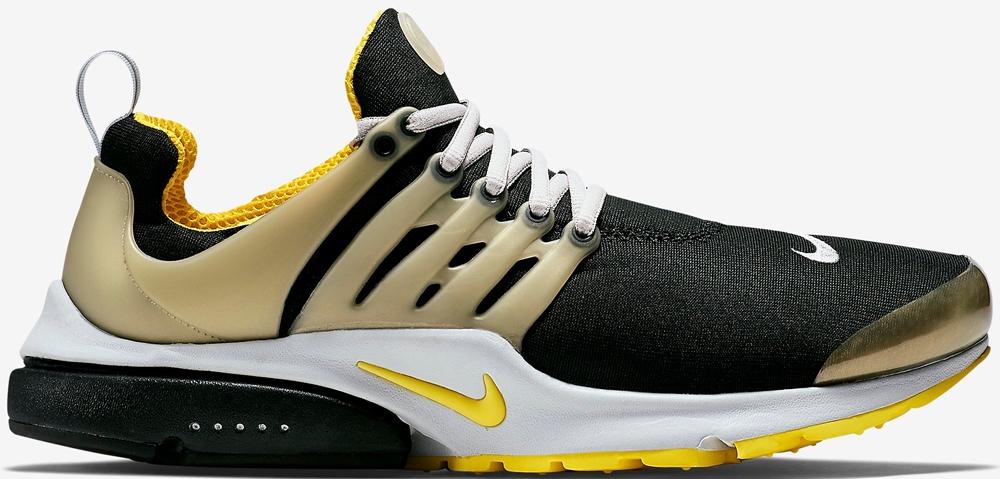Nike Air Presto Black/Neutral Grey-Neutral Grey-Yellow Streak