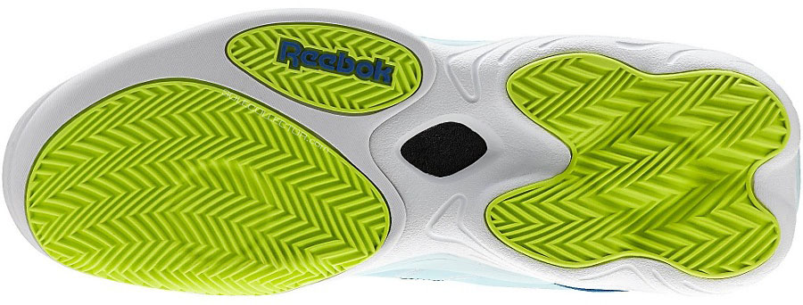 Reebok Answer XIV 14 Grey/Teal-Neon (6)