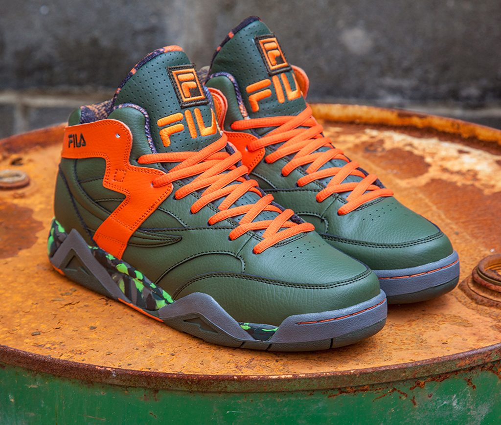 Fila has teamed back up with TMNT, this time in honor of the upcoming movie.
