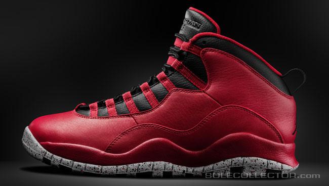 cheaper 11661 17baf Closer Look: Red Cement Air Jordan 10 Retro 'Remastered ...