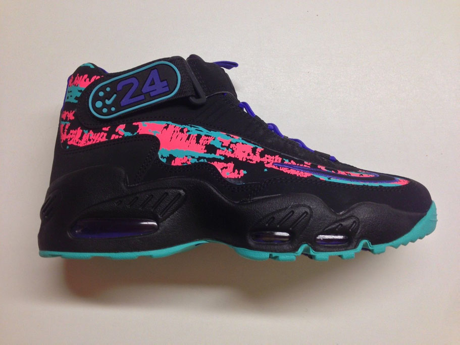 Nike Air Max Griffey 1 Black/Concord-Hyper Jade Release Date 354912-014 (1)