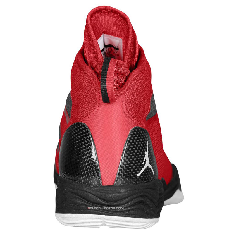 Air Jordan XX8 SE Gym Red White Wolf Grey 616345-601 (3)