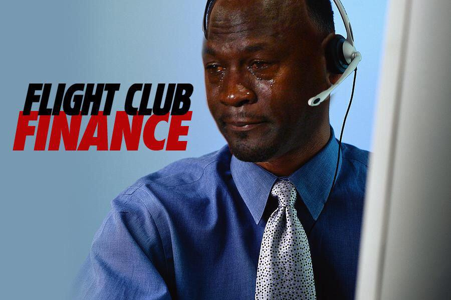 Best Michael Jordan Crying Sneaker Memes: Flight Club Finance
