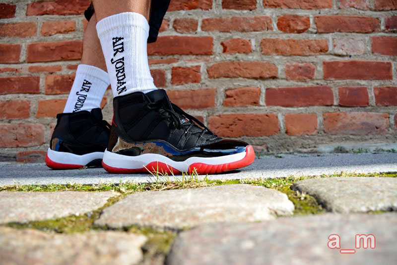 air_maestro in the 'Bred' Air Jordan XI 11 Retro