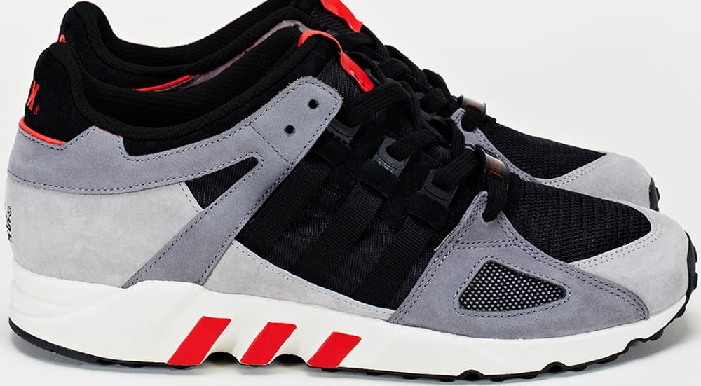 adidas Consortium EQT Guidance '93 Grey/Black-Red