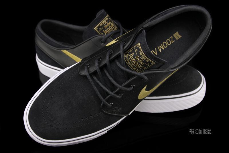 Nike SB Zoom Stefan Janoski - Black   Metallic Gold  d561bba3f05b
