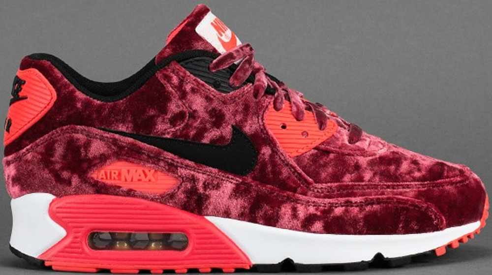 Nike Air Max '90 Anniversary Gym Red/Black-Infrared-Metallic Gold