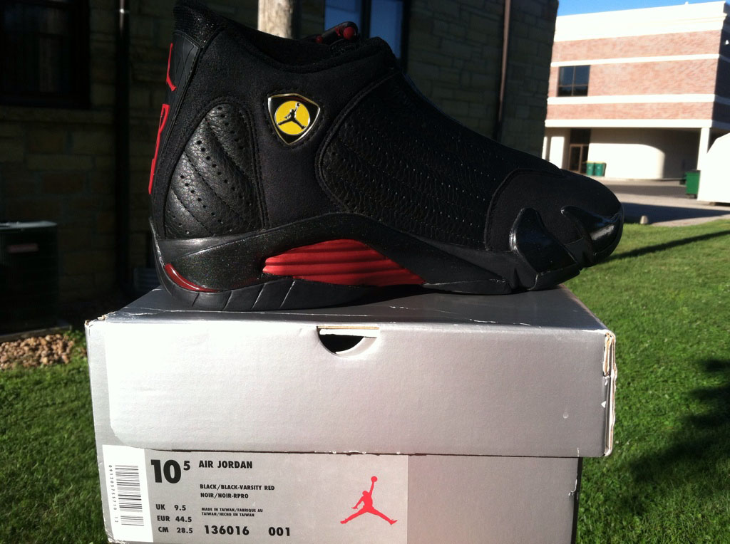 Pickups of the Week // Air Jordan XIV 14 Last Shot by TangoKicks