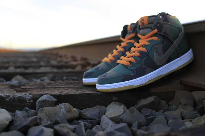 510 Skate Shop x Nike SB Dunk High Fog Camo