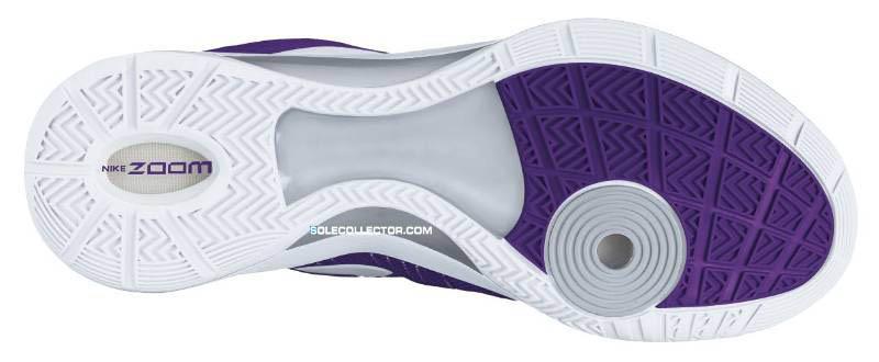 Nike WMNS Zoom Hyperdunk 2011 TB Club Purple White Metallic Silver  454150-500 fdc8d4073