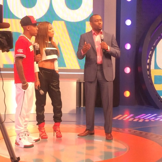 Bow Wow wearing Jordan Spizike OG
