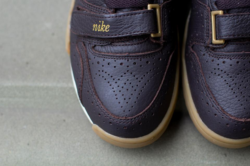 Nike Air Trainer 1 Mid Premium QS Brogue toe perforation detail