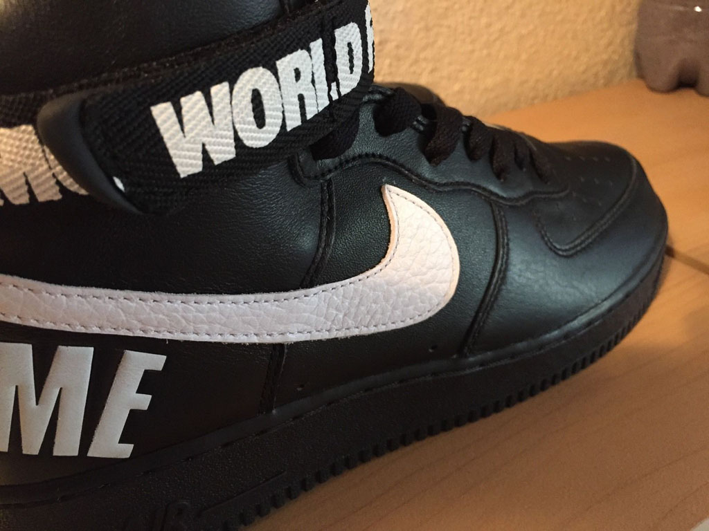 acogedor fresco múltiples colores venta oficial tenis nike online air force one high black