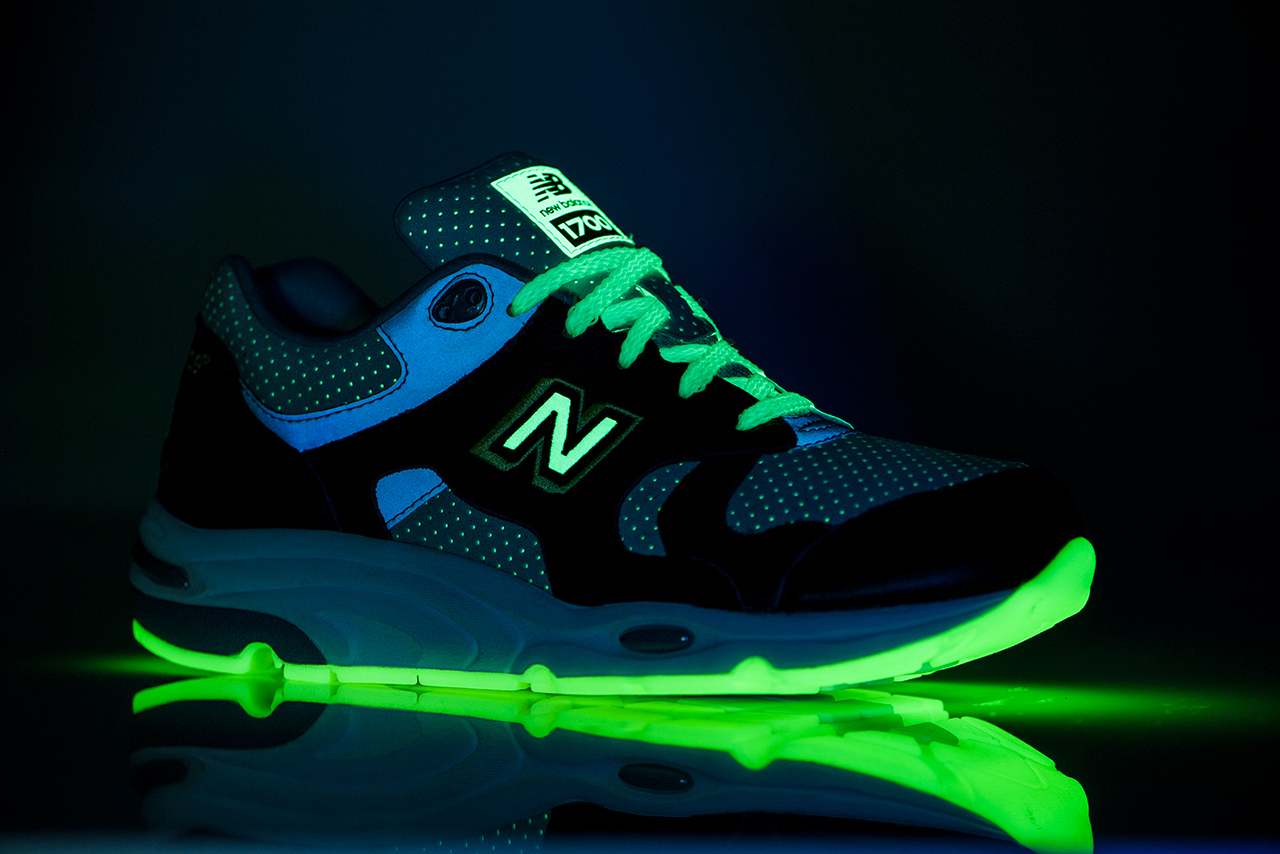 factory authentic ba4af a7498 The Barneys x New Balance 1700 Glows in the Dark