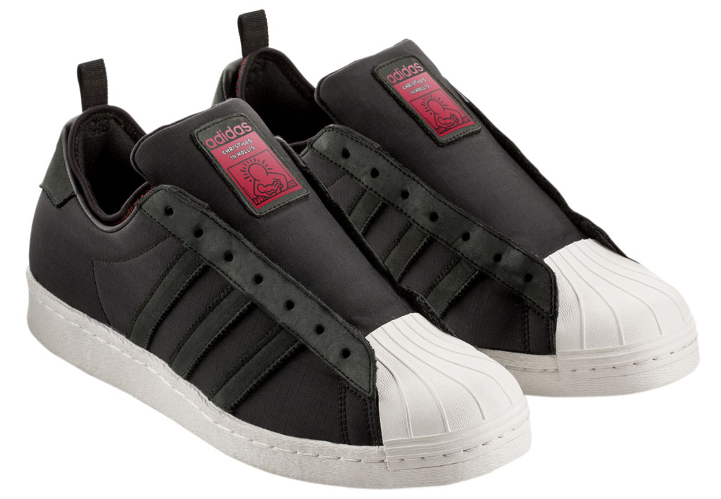 Keith Haring x RUN DMC x adidas Originals Superstar 80s Christmas in Hollis