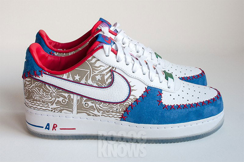 Nike Air Force 1 Low Puerto Rico 2013 Sample (5)
