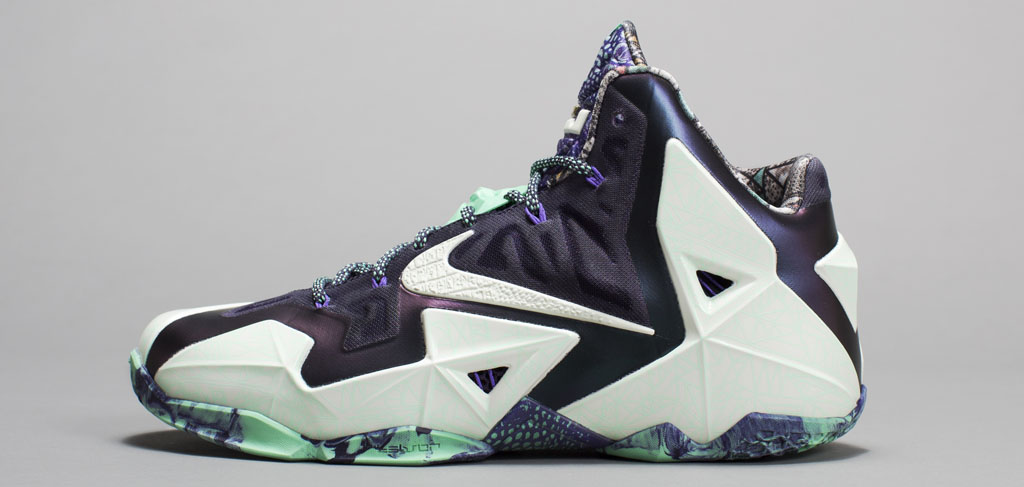 Nike Basketball NOLA Gumbo League All-Star Collection: LeBron 11 Gator King (1)