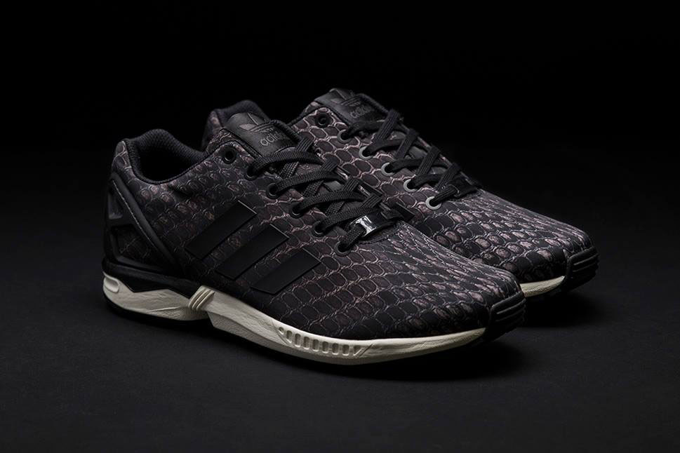 adidas Originals ZX Flux Pattern Pack Exclusive for Sneakersnstuff - Snakeskin (1)
