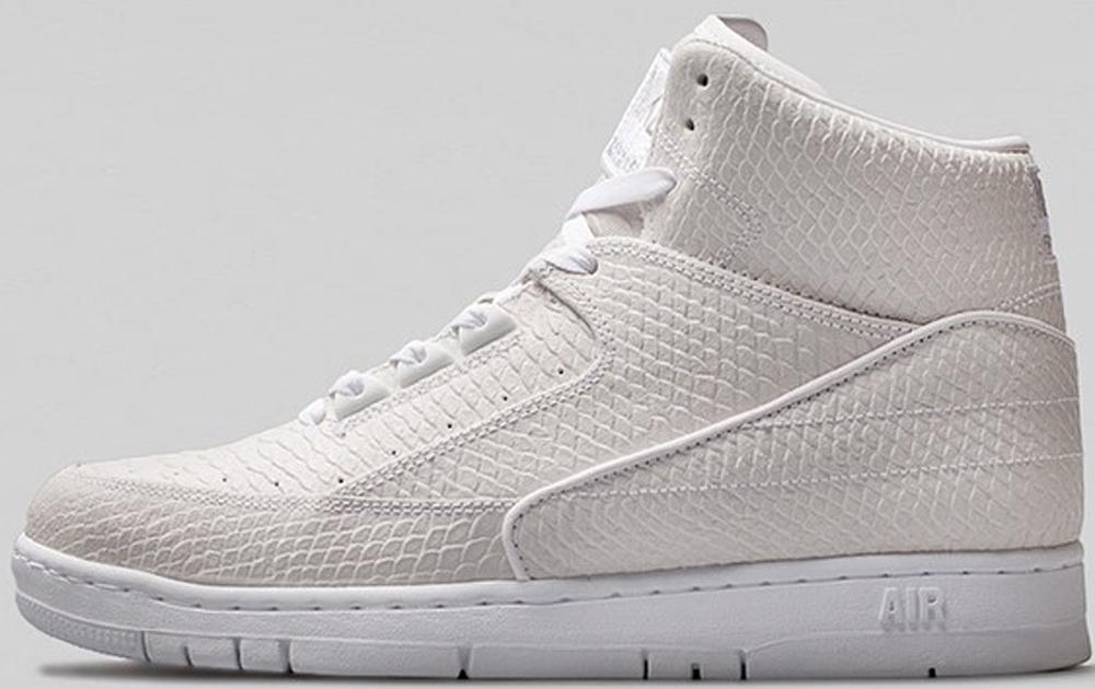 Nike Air Python Premium White/Metallic Silver-White