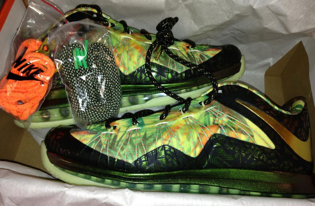 d717f8236352 Nike LeBron X 10 Low - 2-Time Champ (1)