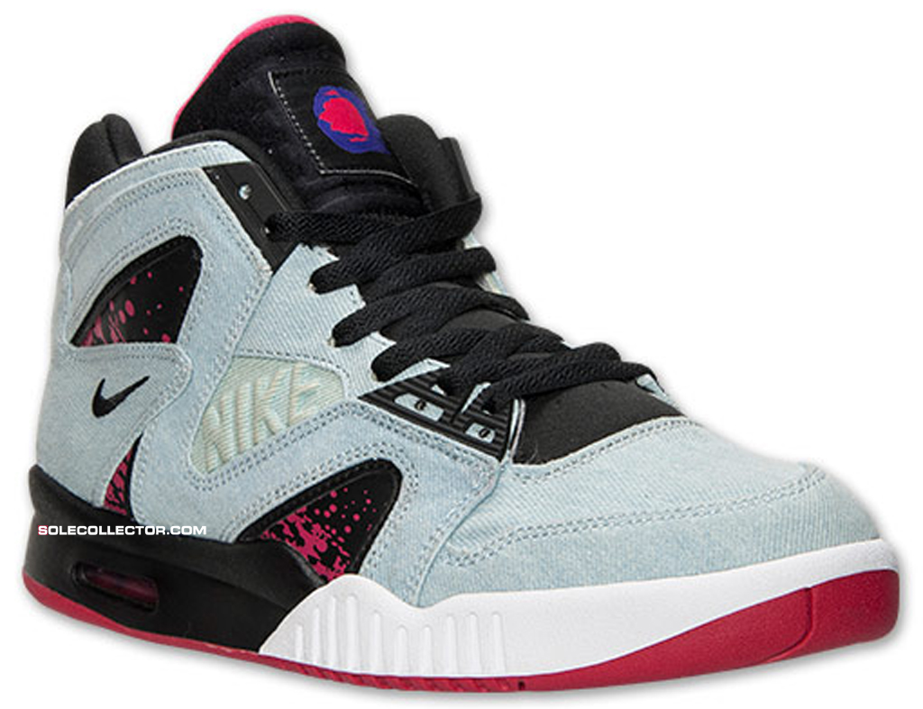 best website 736fd 95b9e An official release date is set for the Denim Nike Air Tech Challenge  Hybrid.