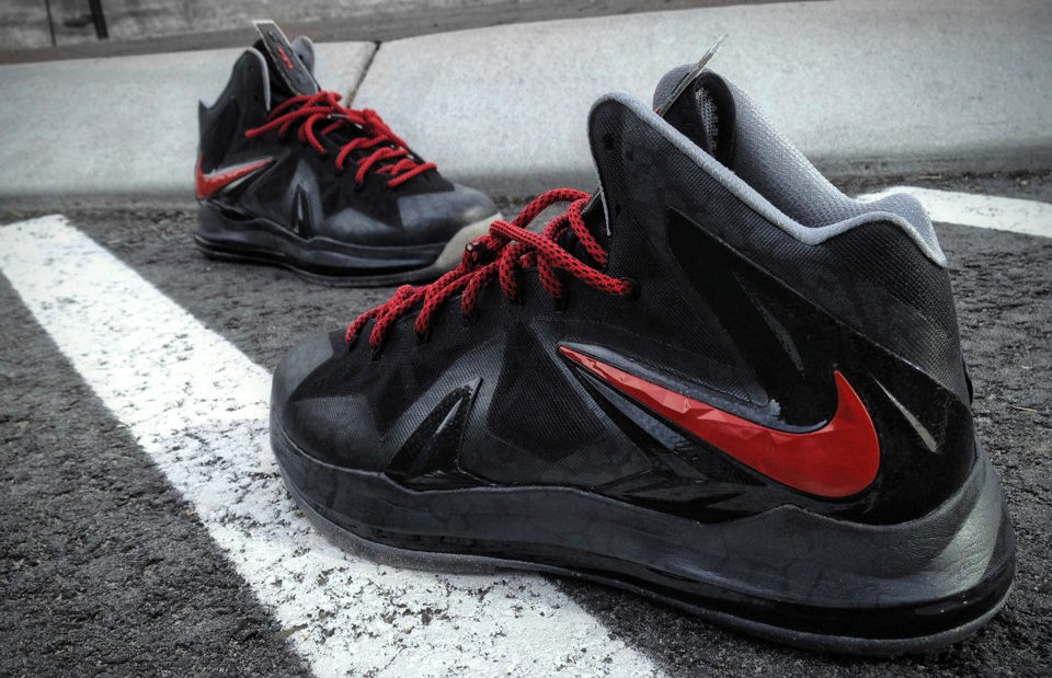 "Nike LeBron X PS Elite ""Killer Elite"" by Mache Custom Kicks (1)"