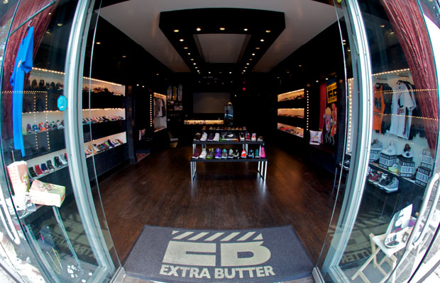 Footwear News Lists the 10 Best Sneaker Shops // Extra Butter, New York
