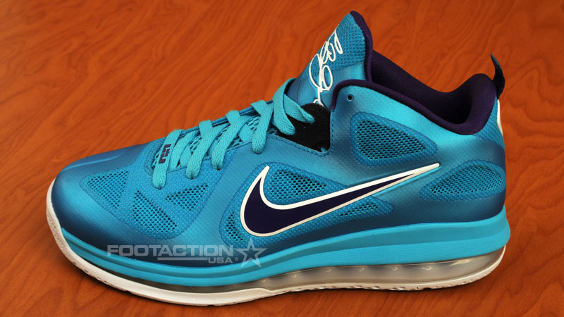 d74aefbf5be Nike LeBron 9 Low - Summit Lake Hornets Release Information