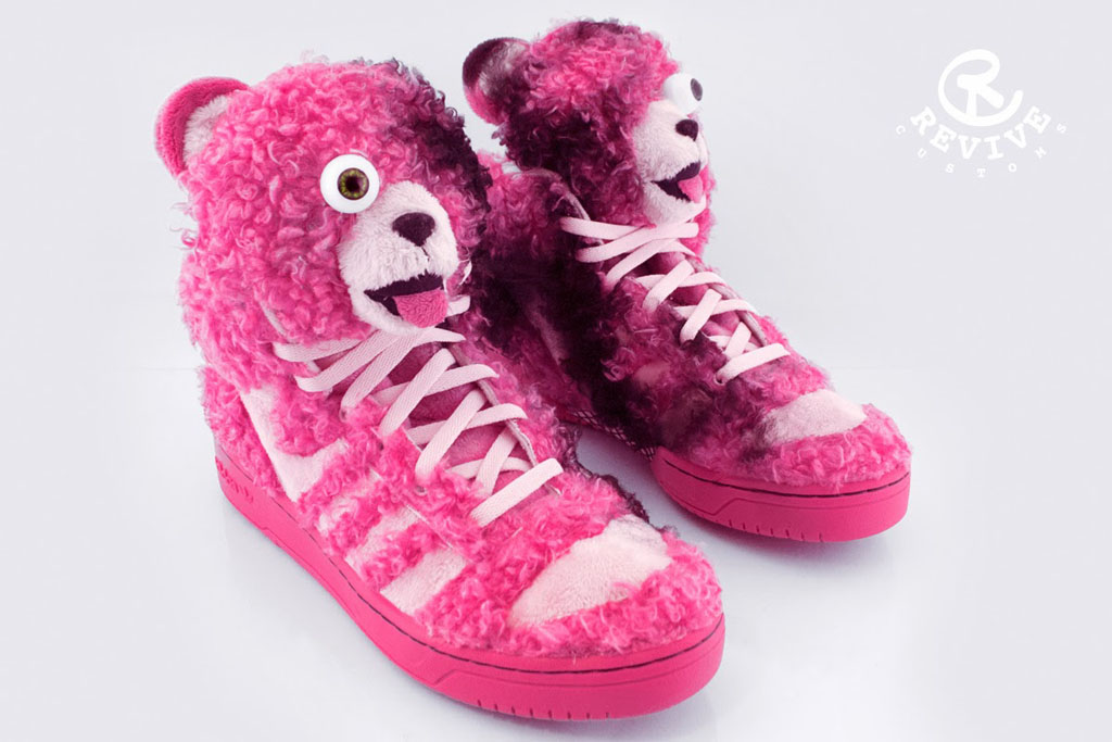 adidas Originals JS 'Bad BeAr' by Revive Customs (4)