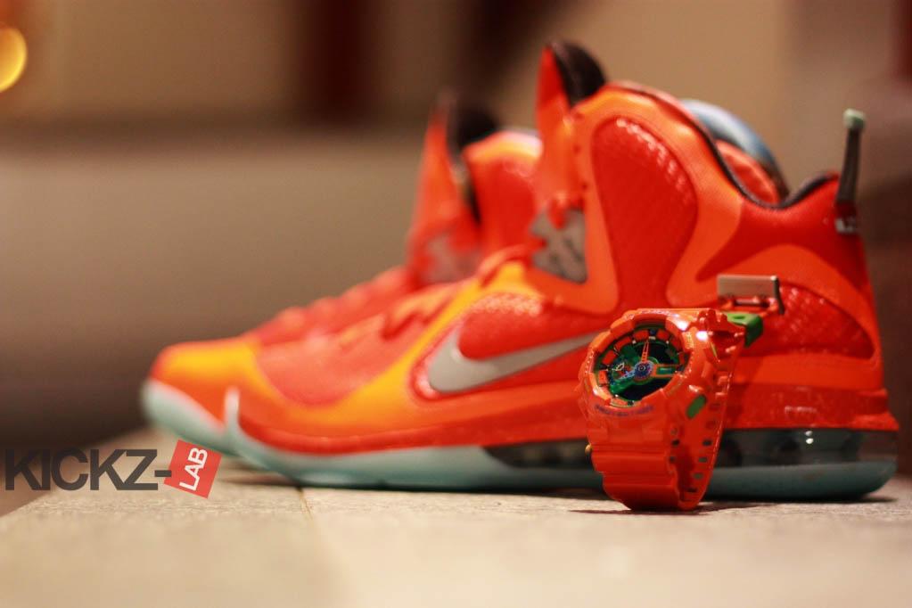 huge discount 9c684 8b5c2 Nike LeBron 9 All-Star Big Bang Galaxy (8)