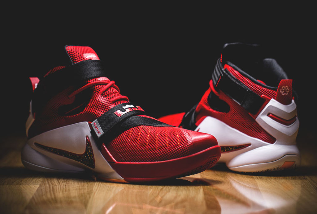 c7b5df0f2d3d Cavs Fans Will Be Happy With This Nike LeBron Soldier 9