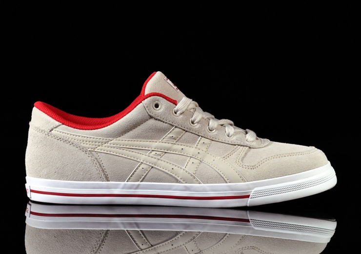 Asics Aaron LE - Beige/Red/White