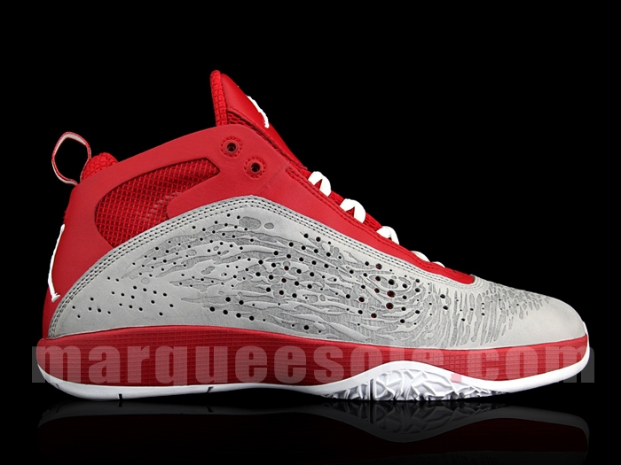 Air Jordan 2011 - Red Grey Whtie