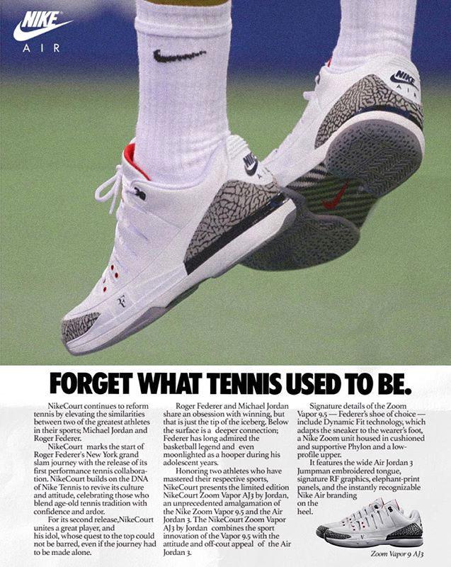 Nike Shoe Advert