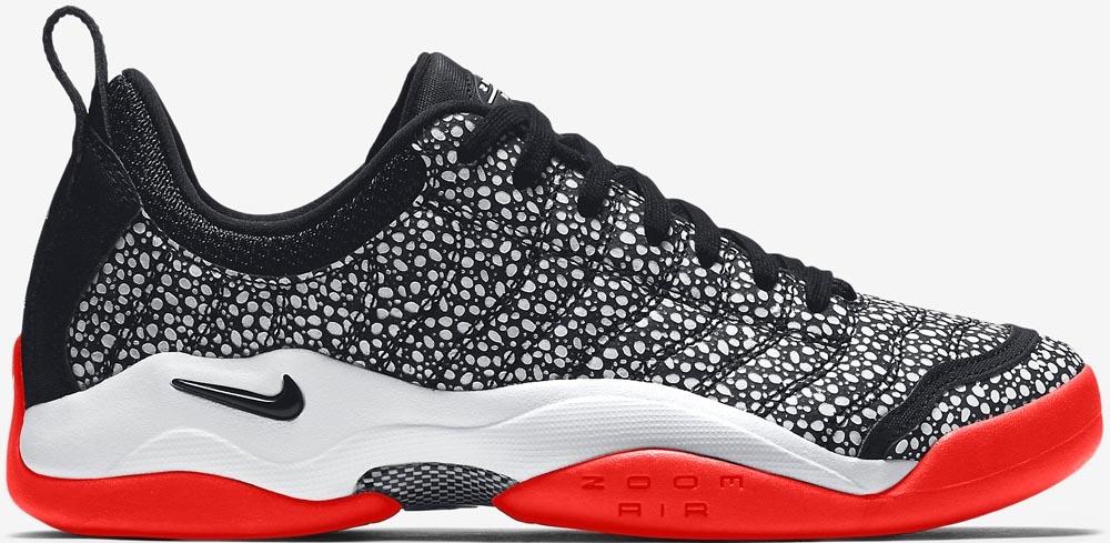 Nike Air Oscillate Black/White-Bright Crimson-Black