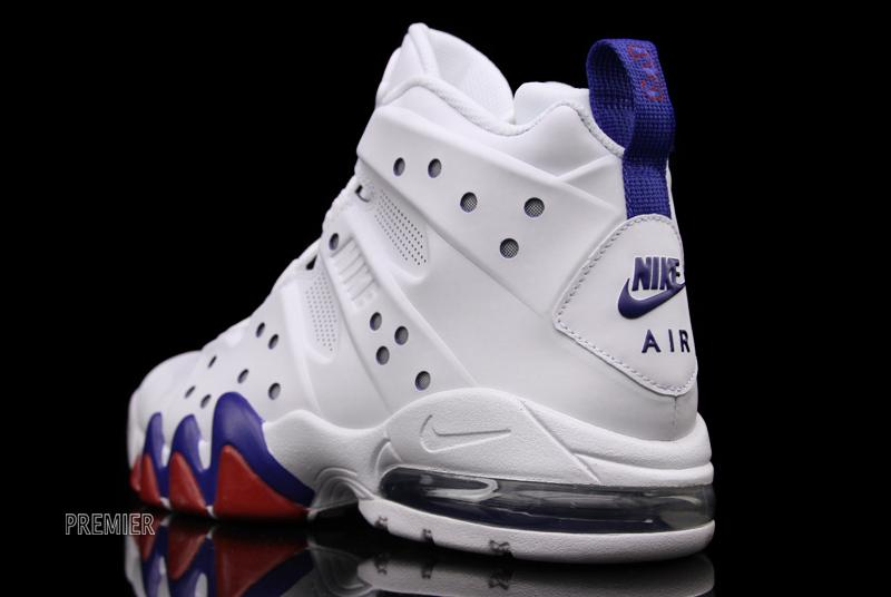 Nike Air Max Barkley White White Old Royal Gym Red 488119-106 (5)