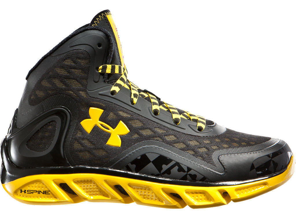 Under Armour Spine Bionic Maryland Terrapins Black Ops
