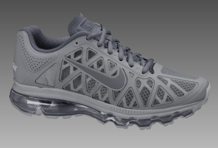 finest selection 33a23 c3a0c ... Nike Air Max+ 2011 Cool Grey Anthracite Dark Grey ...