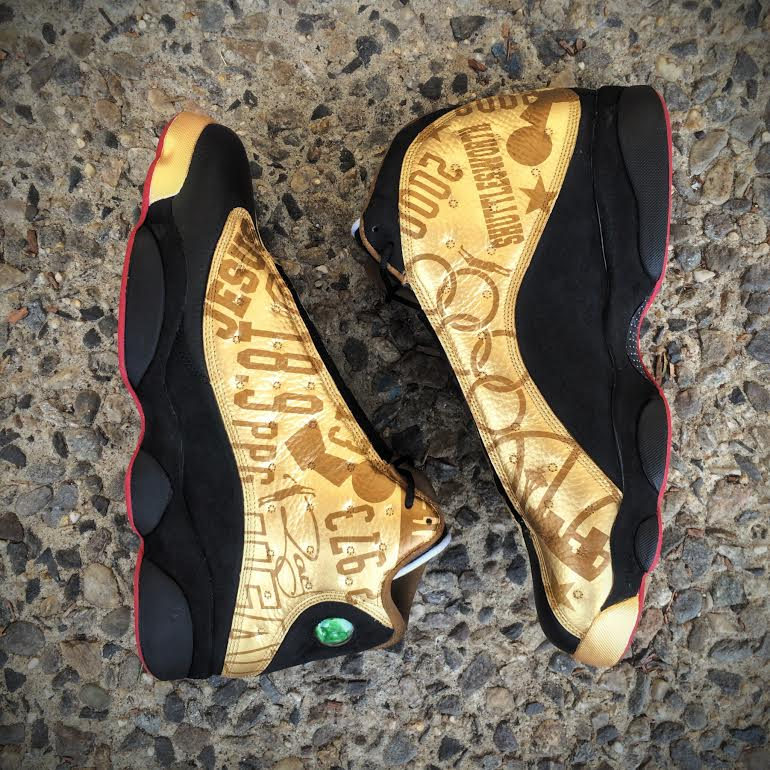hot sale online 25b89 eb59a There's Another Ray Allen Air Jordan 13 | Sole Collector