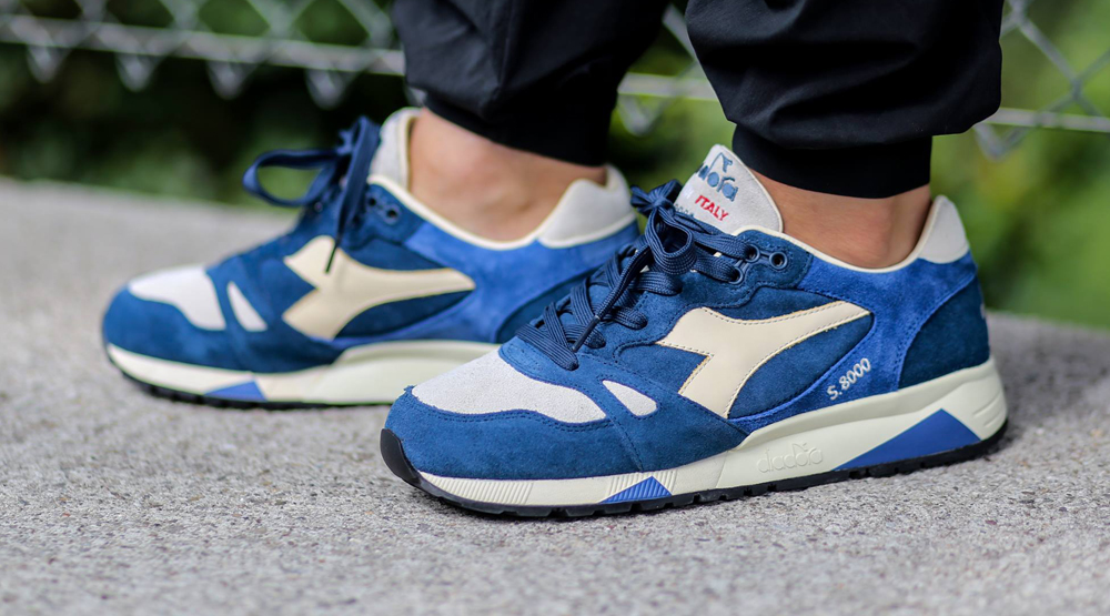 Diadora S8000 Blue Grey Italy
