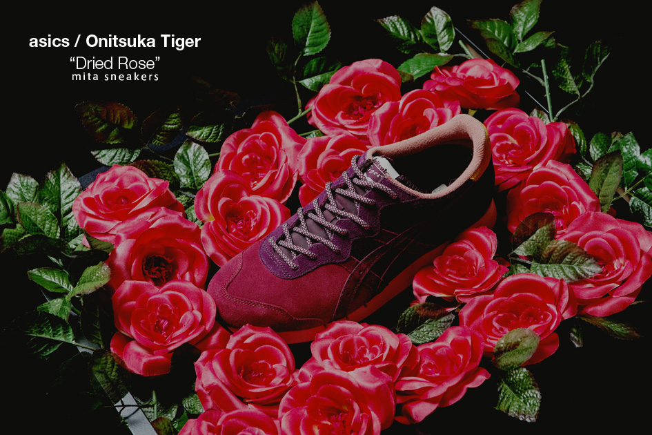 asics glv dried rose