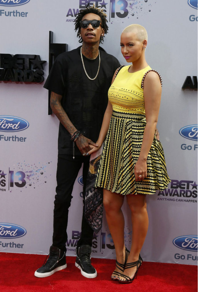 Wiz Khalifa wearing Giuseppe Zanotti Double-Zip Sneakers