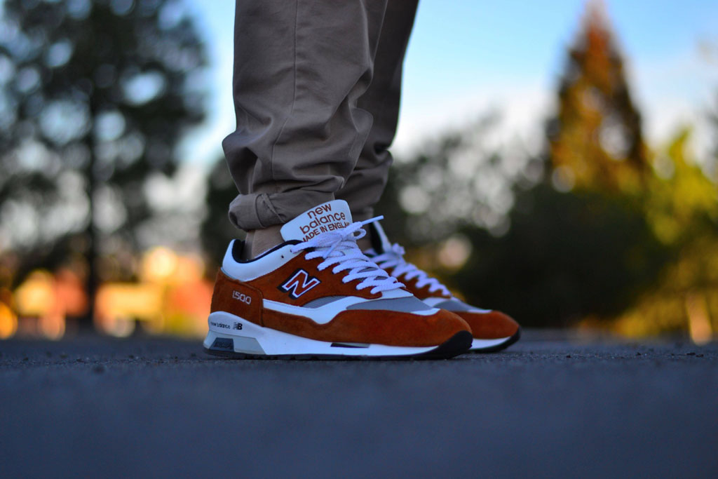 Spotlight: Forum Staff Weekly WDYWT? - 3.14.14 - mackdre wearing New Balance 1500 Made in England Orange