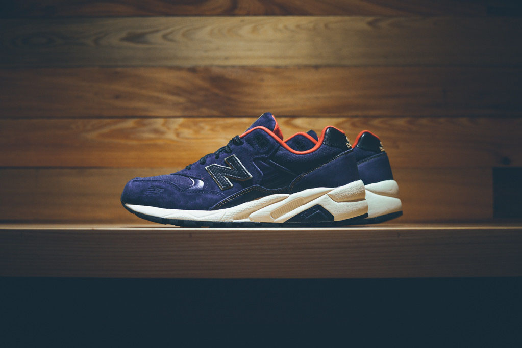 new balance navy and gold