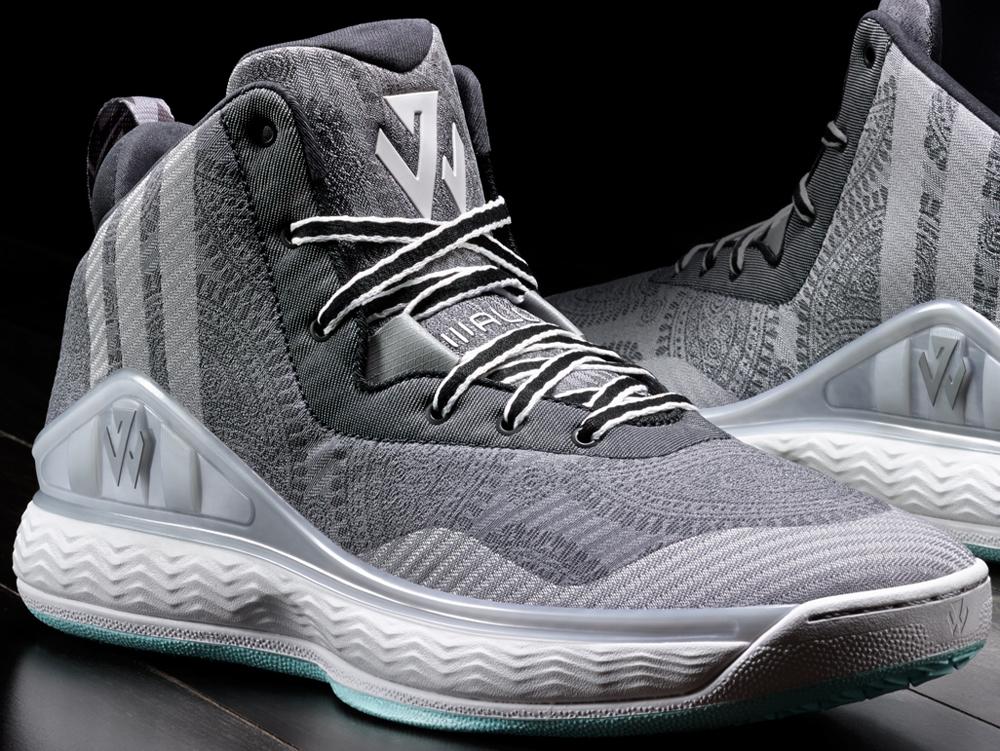 adidas J Wall 1 Aluminum/Black-White-Mint